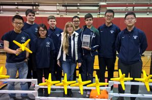 Williston Wildcat Robotics Club battle to victory.