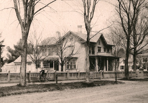 The Williston Birthplace, ca. 1880.