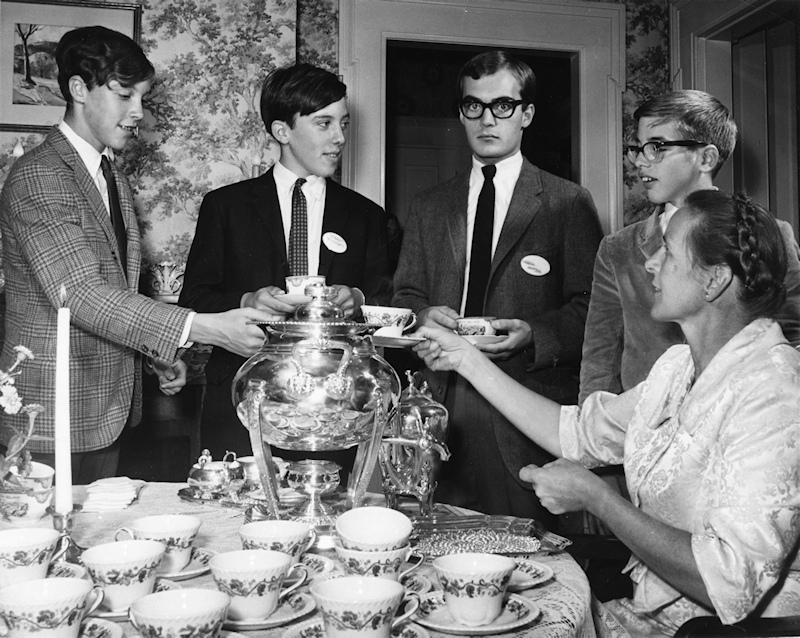 new boys tea 1966