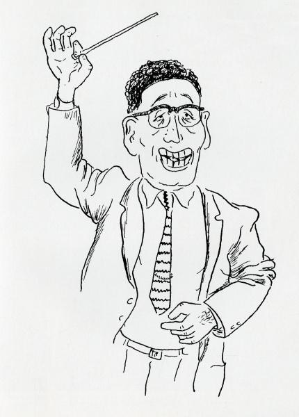 Choral Director Henry Teller.