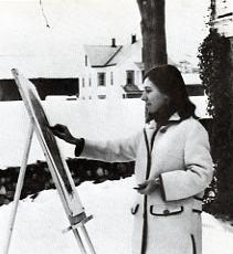 Holly Alderman in 1967