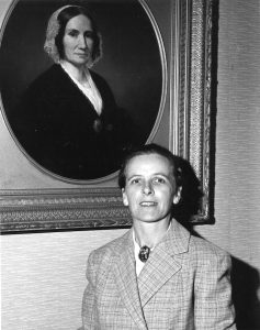 Sarah Stevens with Emily Williston, 1961.