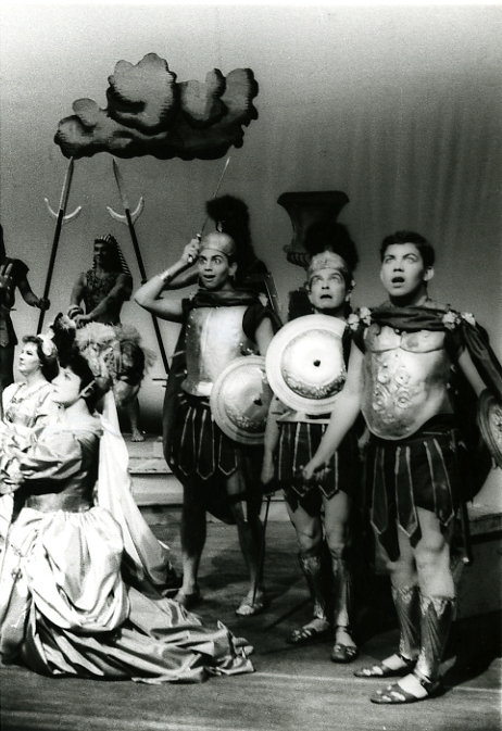 "Richard Gregory's comic opera ""Artemis Undone,"" with Helen Richmond, Jack Cody, Stephen Randall"