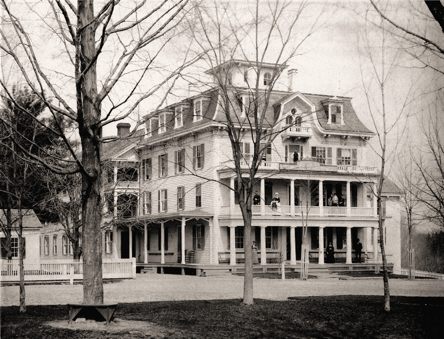 The Mansion House in the late 19th century