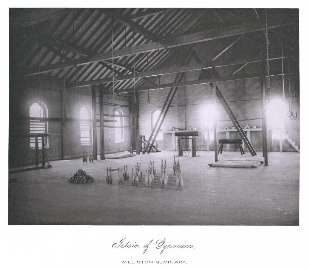 Interior of the Gymnasium