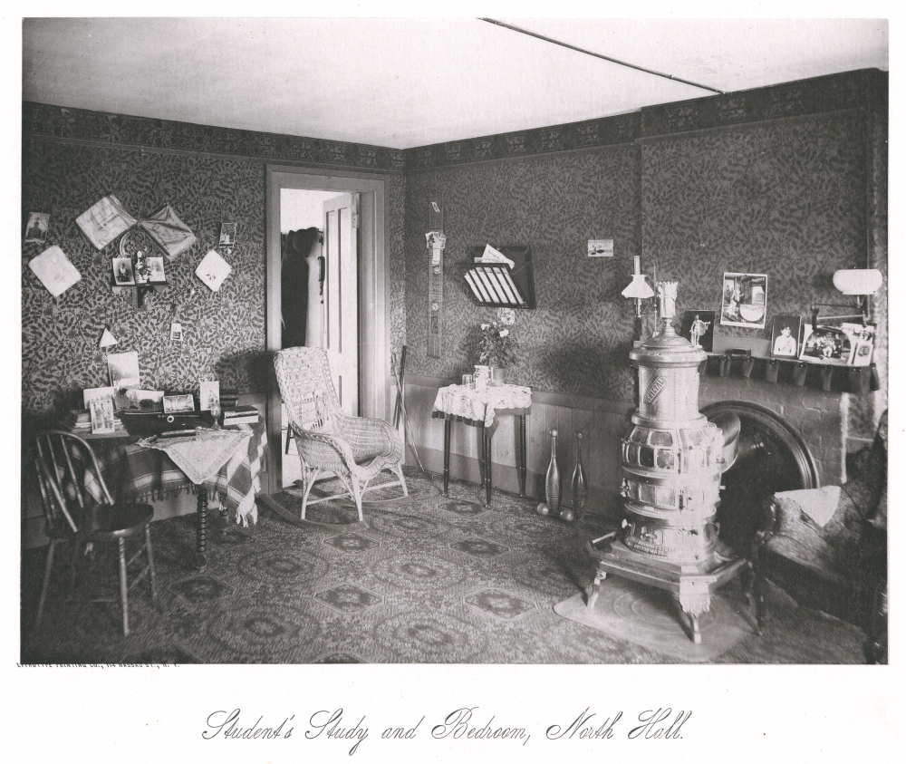 Student's Study and Bedroom, North Hall