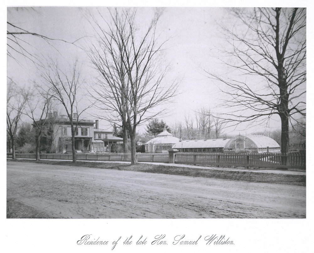 Residence of the late Hon. Samuel Williston