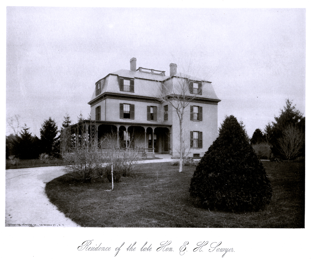 Residence of the late Hon. E. H. Sawyer