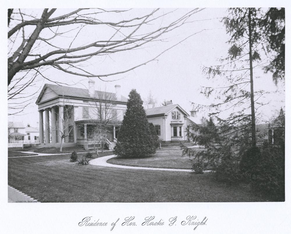 Residence of Hon. Horatio G. Knight