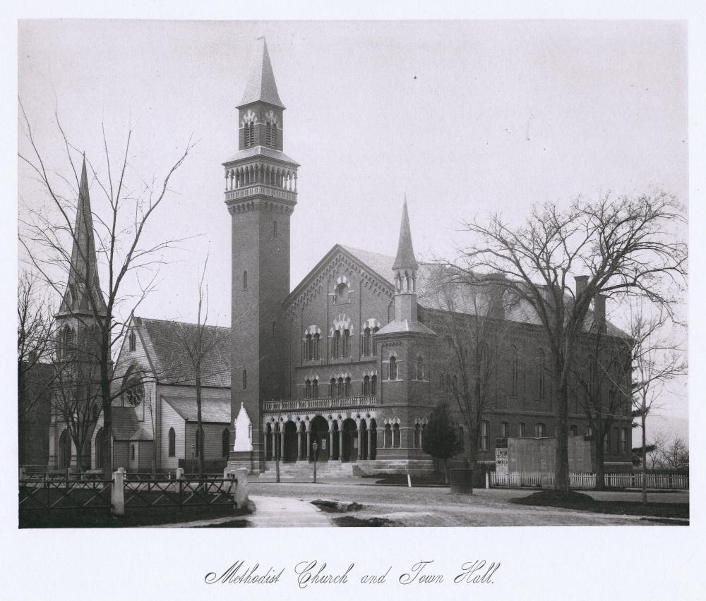 Methodist Church and Town Hall