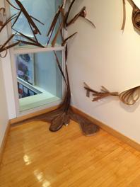 Cardboard Installation by Rachel Chambers