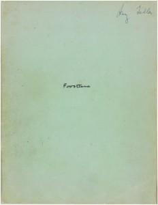Frostiana Score 1
