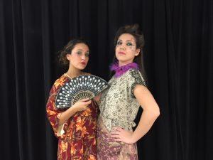Luciana (Neha) and Adriana (Alara)