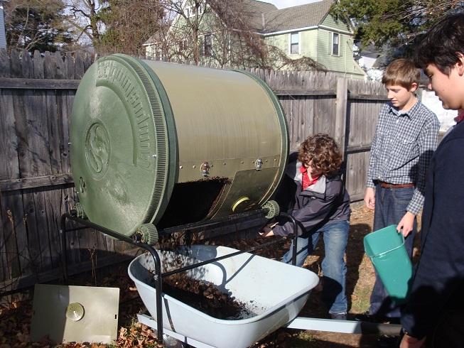 Harvesting Compost