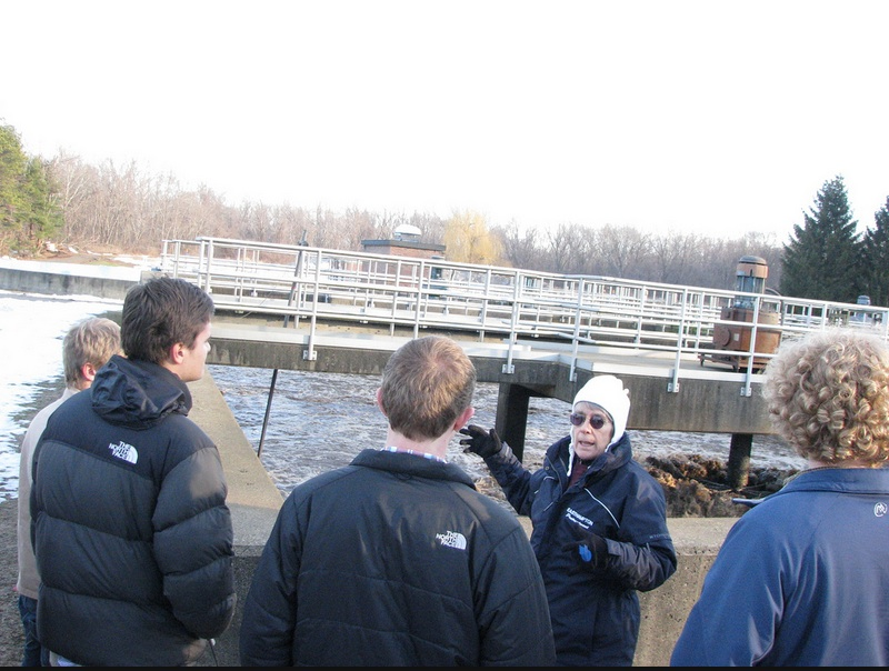 AP Environmental Science Visits the Wastewater Treatment Plant