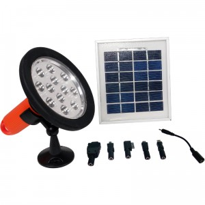 Solar Panel and Light