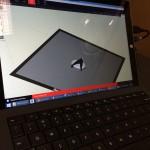 The Star Trek communicator model in the MakerBot Desktop program