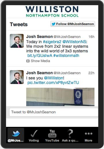 @MrJoshSeamon Twitter Feed