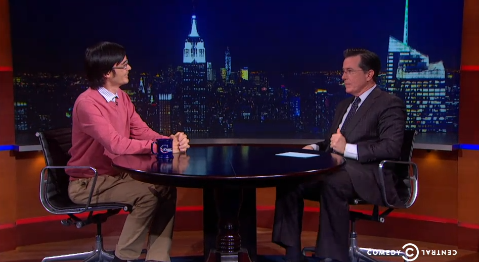 Tao on Colbert
