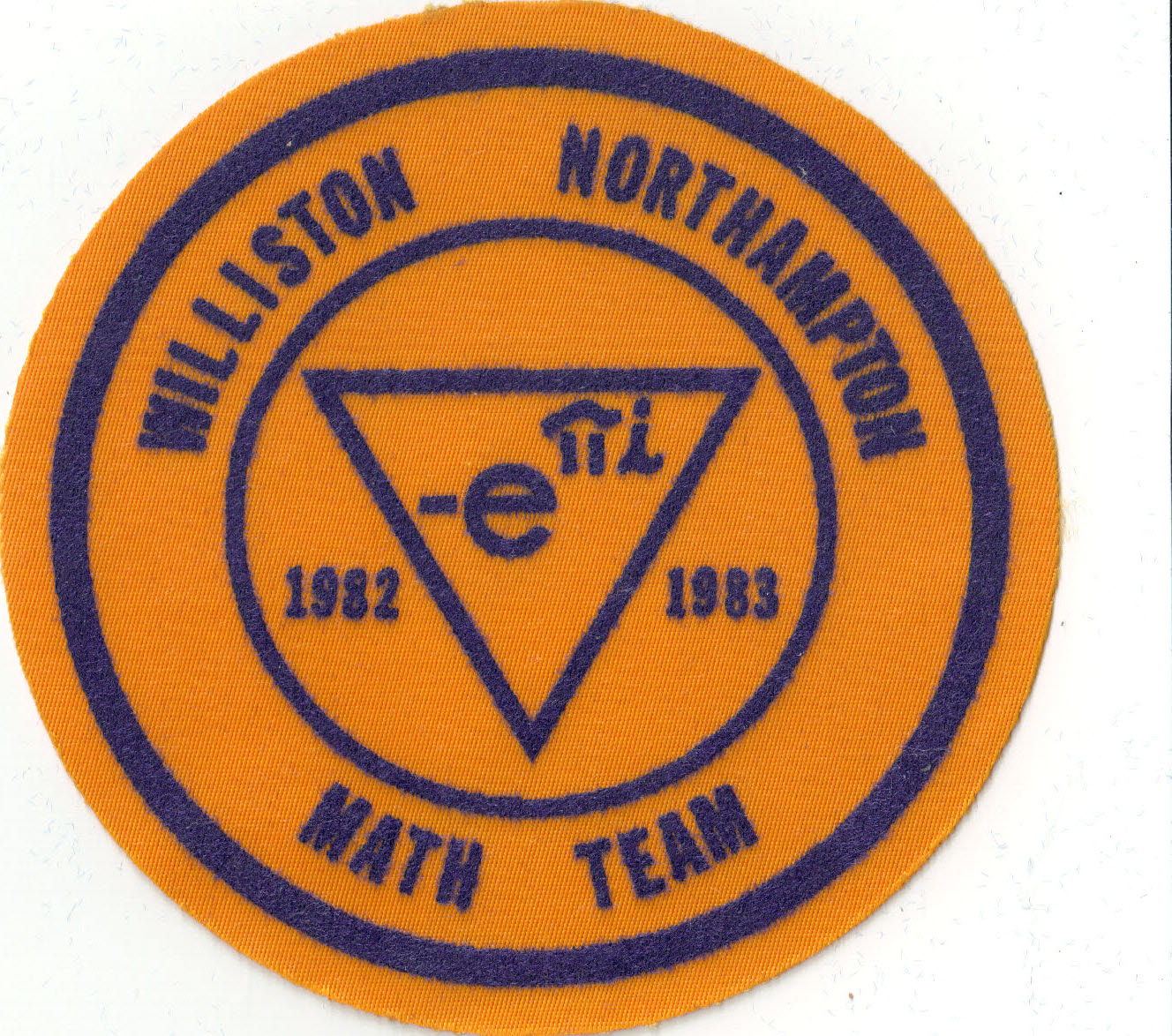 The original Williston Math Team logo! Euler forever!