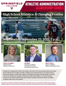 SC_Athletics Leadership Series Lecture_Sept2015