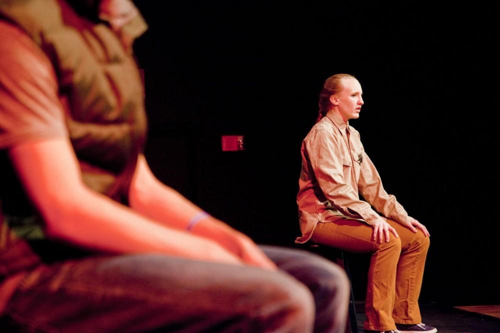 Persis Ticknor-Swanson as Reggie Fluty in Laramie Project © Janine Norton