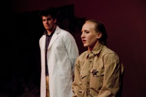 the laramie project interviews in their own words what roles do you play in the laramie project i play reggie fluty the police officer who responded to the 911 call about matthew