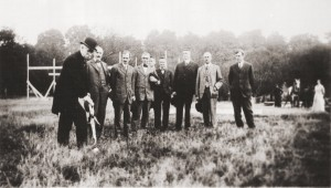 Ford Hall groundbreaking, 1915.